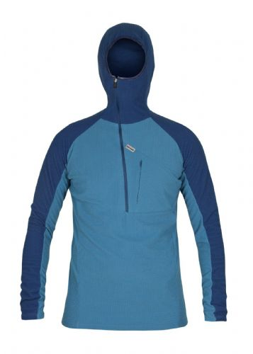 Paramo Mens Grid Technic Hoodie - Dolphin / Cobalt